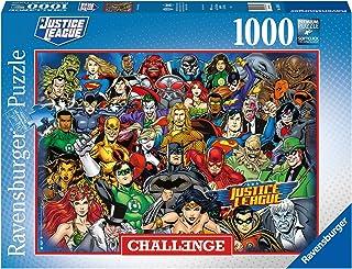 Ravensburger Puzzle 16884 - DC Comics Challenge - 1000 Teile Puzzle für Erwachsene und Kinder ab 14 Jahren