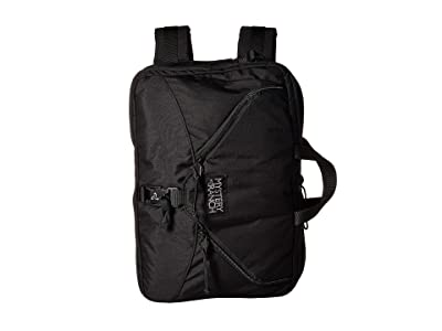 Mystery Ranch 3 Way (Black) Briefcase Bags
