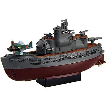 フジミ模型 ちび丸艦隊シリーズ No.17 伊400型潜水艦 2隻セット全長約11cm ノンスケール 色分け済み プラモデル ちび丸17