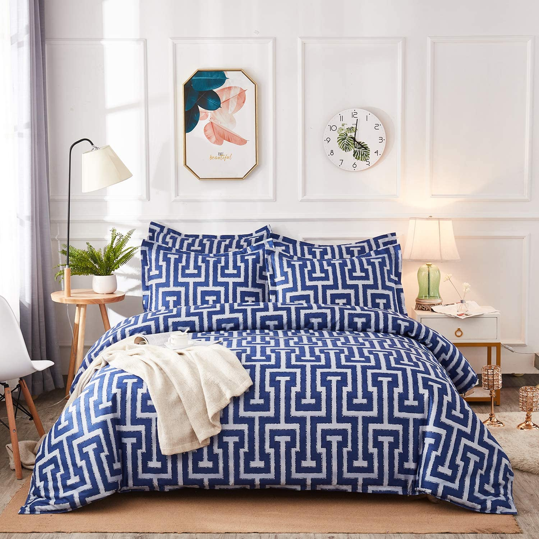 NOKOLULU Modern Geometric Striped Printed Hidde Set with Bedding Sale special price Austin Mall