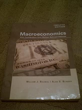 Macroeconmics with Contributions From Mohsen Bahmani-oskooee