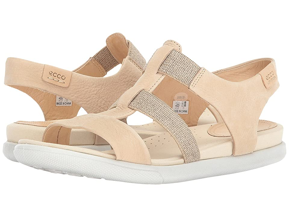 ECCO Damara Elastic Sandal (Powder Cow Nubuck) Women
