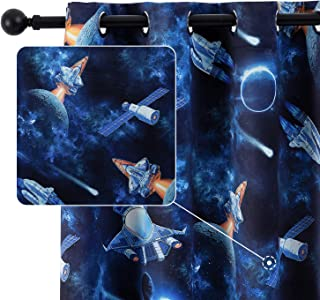 Anjee Kids Room Curtain for Boys Bedroom 63 Inches...