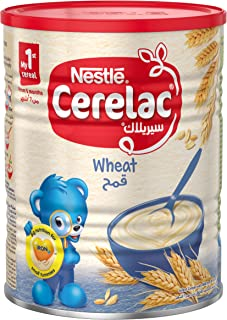 Nestle Cerelac Wheat with Milk Infant Baby Cereal Tin 400g