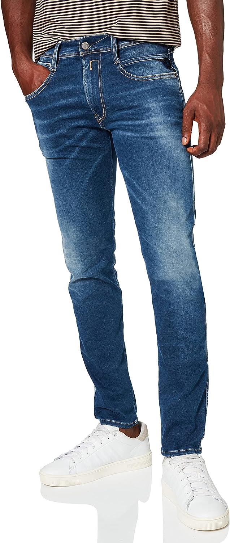 REPLAY Anbass Hyperflex Re-Used Xlite Jeans para Hombre