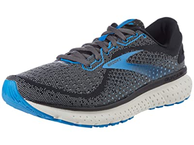 Brooks SINGLE SHOE Glycerin 18 (Black/Ebony/Blue) Men