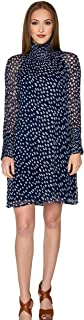 Lisette Iman Printed Chiffon Dress