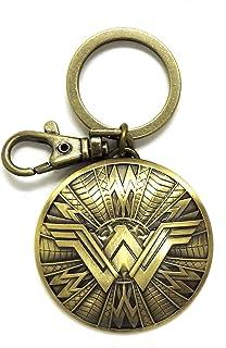 حلقه کلید Wewer Woman Shield Pewter New DC