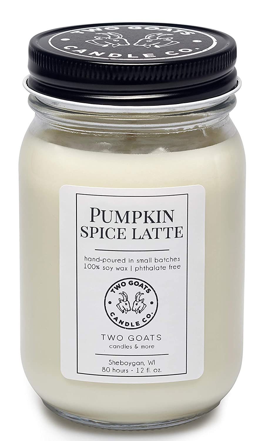 Max 44% OFF Pumpkin Spice Latte Scented Soy Candle Hand in USA Poured Genuine the