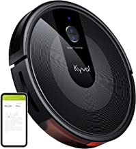 Kyvol Cybovac E30 Robot Vacuum Cleaner Smart Navigation, 2200Pa Strong Suction, 150 mins Runtime, Robotic Vacuum Cleaner, Wi-Fi Connected, Works with Alexa, Ideal for Pet Hair, Carpets & Hard Floors