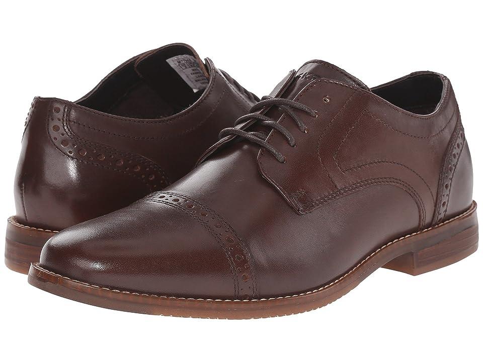 Rockport Style Purpose Cap Toe (Dark Brown) Men