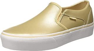 Vans Women's Asher Platform Leather Sneakers