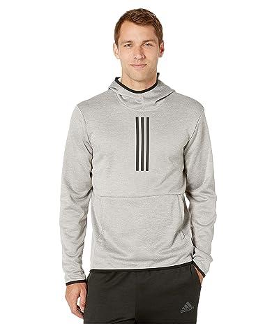 adidas Team Issue 3 Stripe Hoodie (Art 3/Medium Grey Heather/Solid Grey/Heather/Black) Men