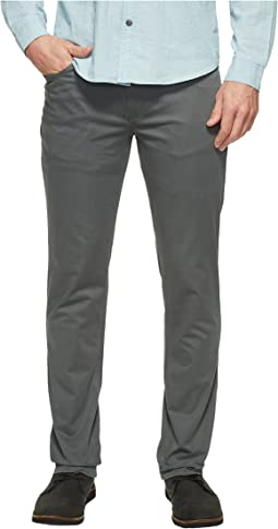 Kenneth Cole Sportswear - Slim Sateen Five-Pocket Pants