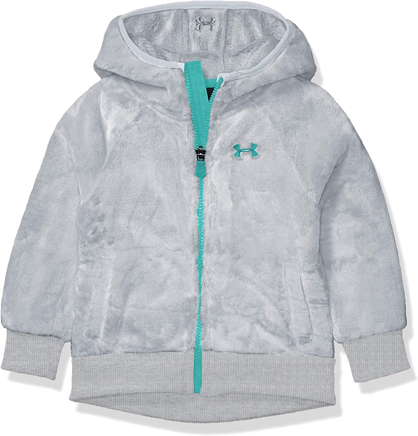 Under Armour Girls' ColdGear Cozy Hooded Jacket with Pocket