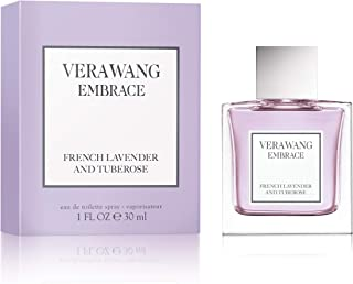 Vera Wang Embrace Eau De Toilette Spray for Women, French Lavender & Tuberose, 1 fl. oz.