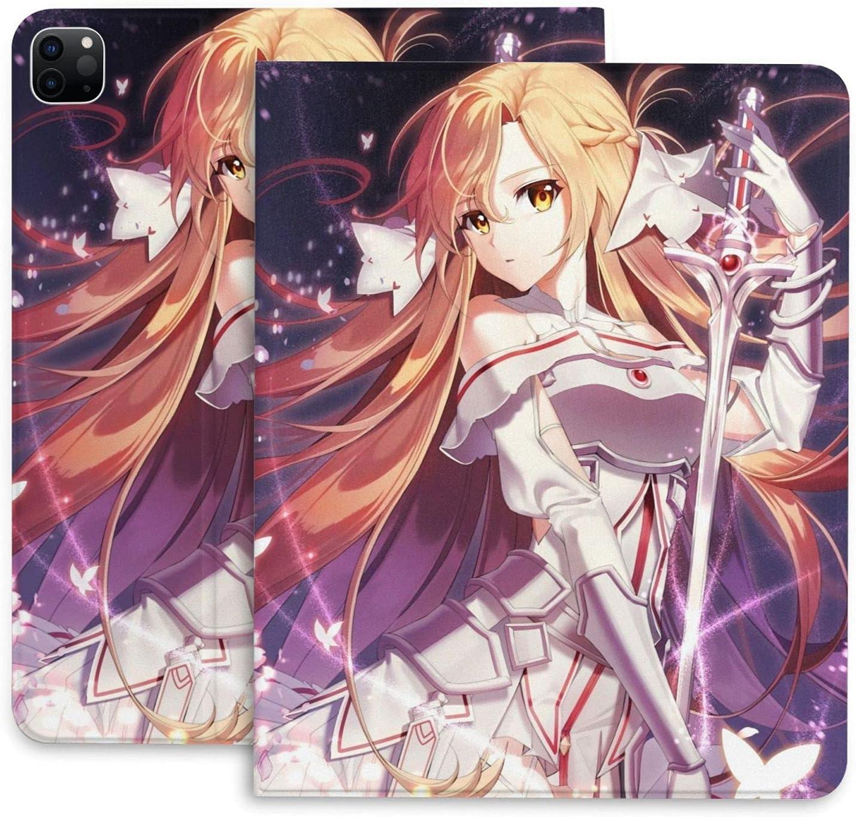 Sword Art Online Asuna IPad Case Don't miss the campaign Pro Max 61% OFF Inch Ipad Anim 2020 11