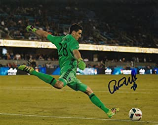 ANDREW TARBELL signed (SAN JOSE EARTHQUAKES) MLS SOCCER 8X10 photo W/COA #2 - Autographed Soccer Photos