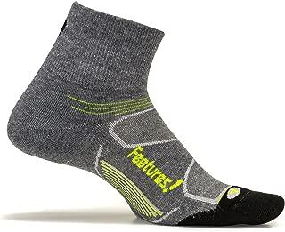 Feetures Men's Elite Max Cushion Quarter