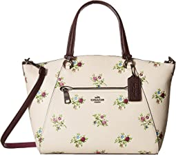 COACH - Prairie Satchel in Cross Stitch Floral Print
