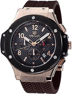 腕時計 メンズ ブランド クロノグラフ レーシングウォッチ(browngold) [並行輸入品]