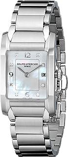 Baume & Mercier - MOA10050 - Reloj de pulsera mujer, acero inoxidable, color plateado