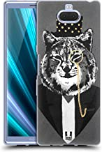 Head Case Designs Lynx Super Posh Soft Gel Case Compatible for Sony Xperia XA3 Ultra / 10 Plus