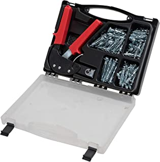 81PC - Wall Anchors and Wall Anchor Setting Tool with Carry CASE – Everything You Need for Fixing to Plaster Board and Hol...