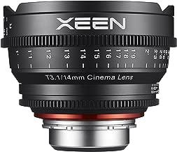 Rokinon Xeen XN14-C 14mm T3.1 Professional Cine Lens for Canon EF (Black)