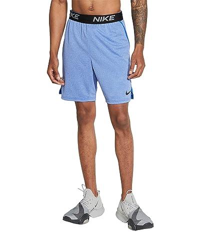 Nike HYB Veneer Train Shorts (Game Royal/Heather/Black) Men