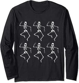 Star Wars Clone Trooper Dancing Skeletons Halloween Long Sleeve T-Shirt