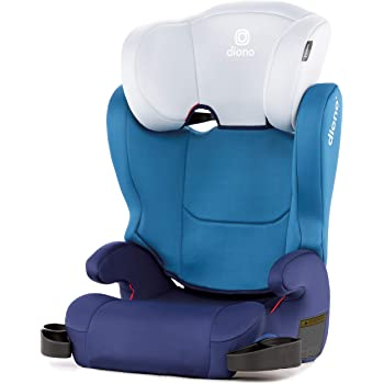 Cambria 2 Latch Booster Seat with 2-in-1 XL Belt Positioning for Comfort, Space and Room to Grow, Blue