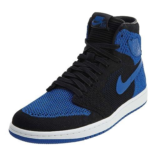 dfc095f643ab Jordan Nike Mens Air 1 High Flyknit Basketball Shoes
