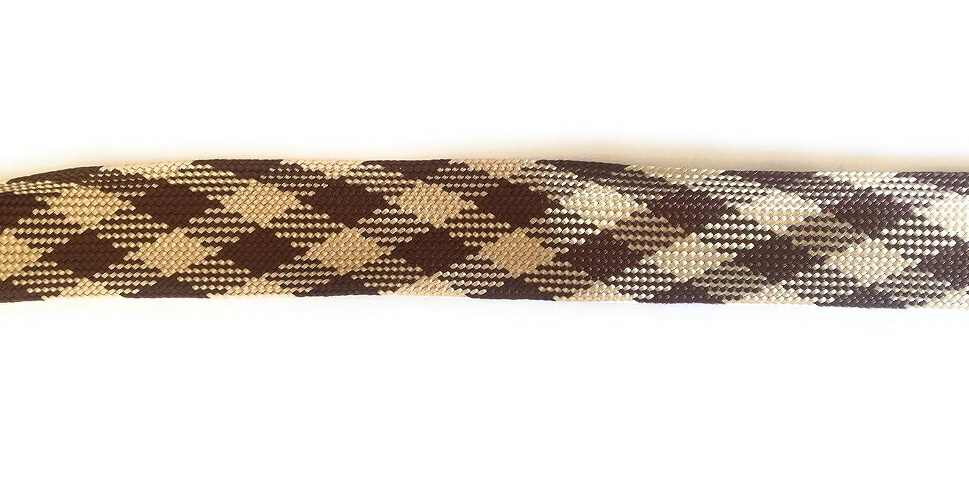 Designer PLAID FOLDOVER BRAID Ribbon Trim , Multi Colors - For Clothing , Pillows, Drapes 5 Yds FO-103F