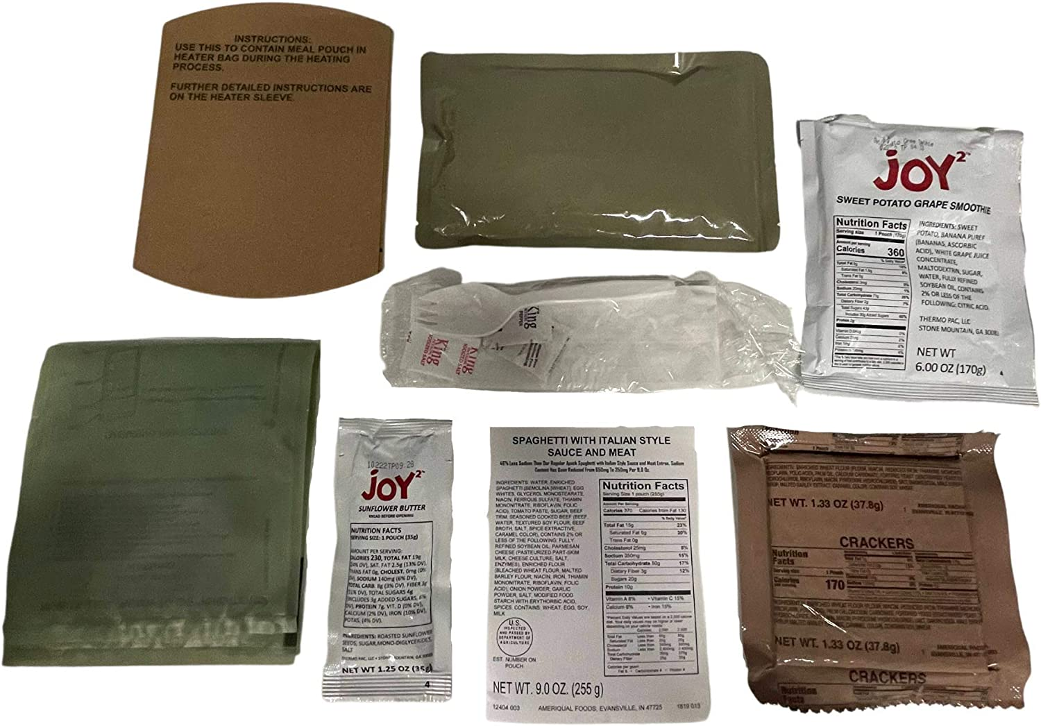 Ameriqual APack MRE Assorted Flavor Sodium low-pricing Meals Reduced Classic Rea