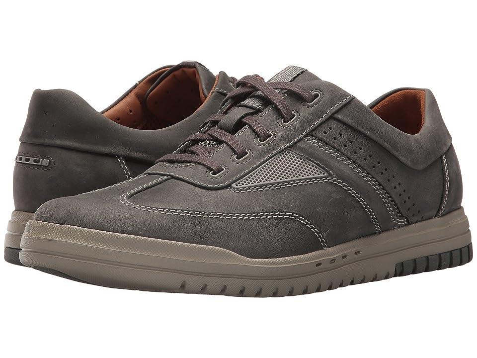 Clarks UnRhombus Fly (Dark Grey Leather) Men