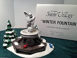 SNOW VILLAGE DEPARTMENT 56 WINTER FOUNTAIN 5409-7
