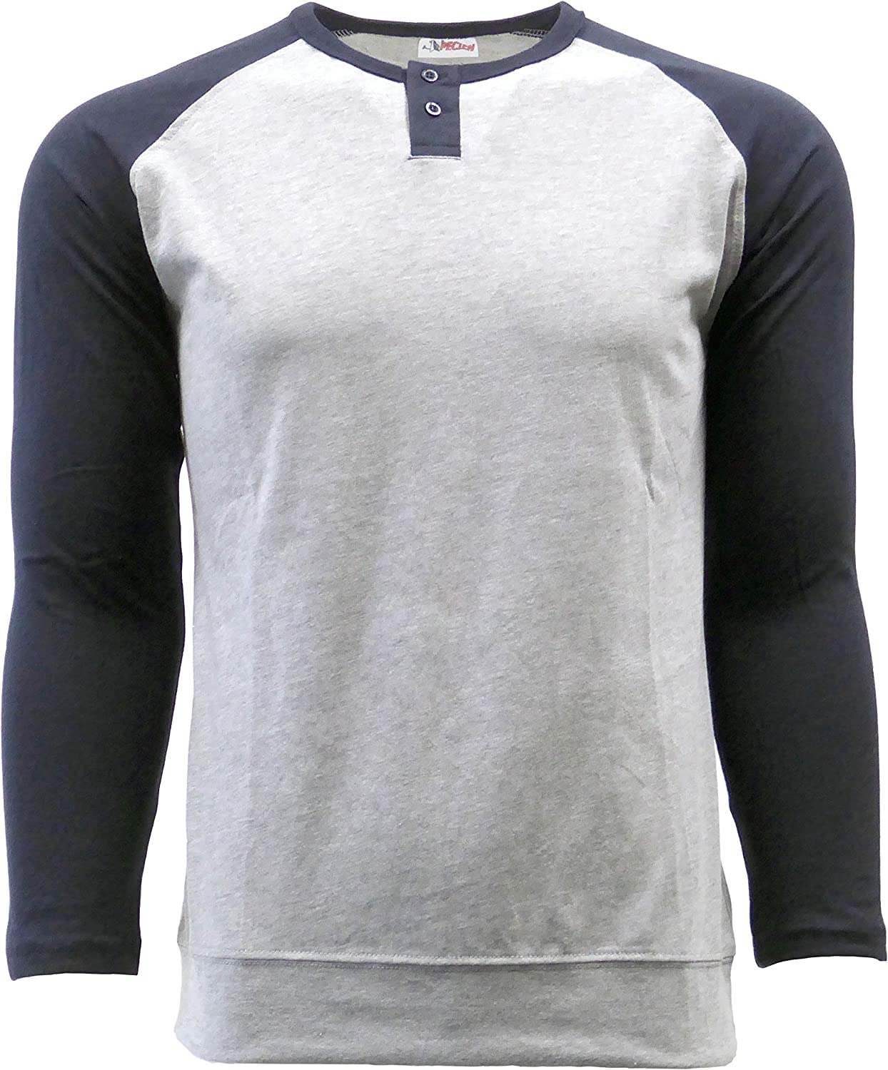 SPECIEN Sales of SALE Indianapolis Mall items from new works Long-Sleeve Color-Blocking Henley T-Shirt Jersey