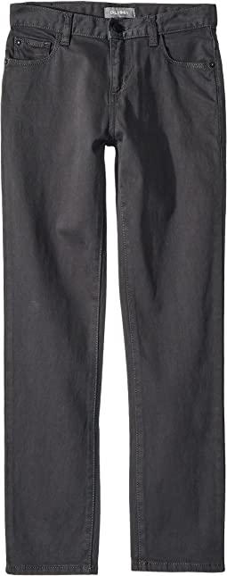 Hawke Twill Skinny with Black Hardware in Dab (Big Kids)