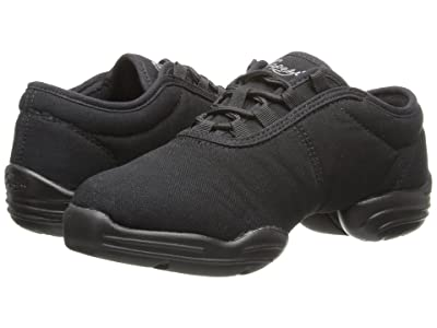 Capezio Canvas Dansneaker(r) (Black) Dance Shoes