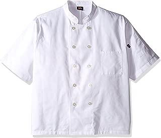 Dickies Chef Men's Short Sleeve Button Coat