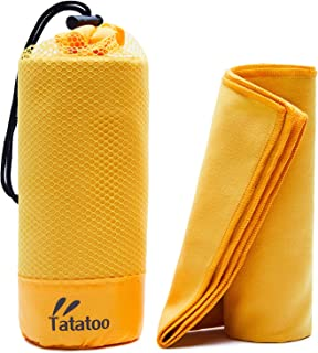 TATATOO Camping Towels Fast Drying, Super Absorbent ,...