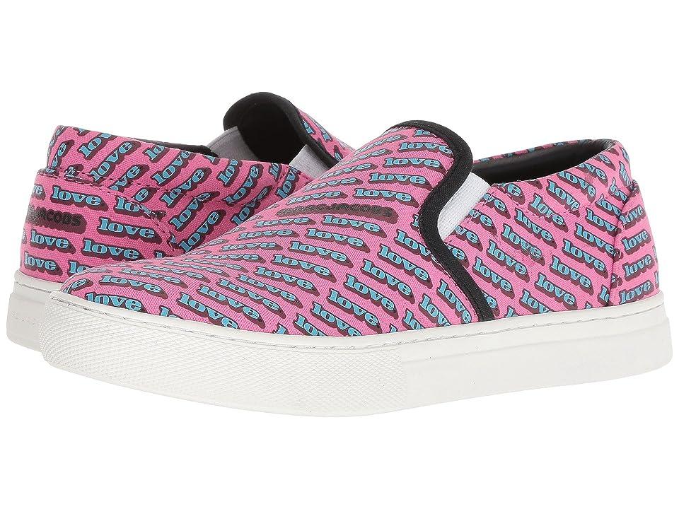 Marc Jacobs Love Mercer Sneaker (Fuchsia Multi) Women
