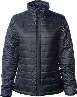 Global Blank Womens Packable Lightweight Puffer Jacket Water-Resistant Winter Coat