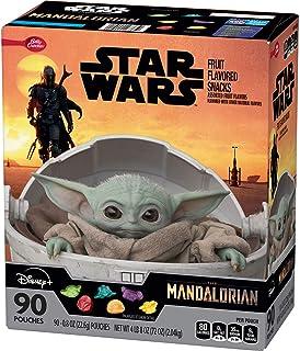 Star Wars Mandalorian Fruit Snacks, Assorted Fruit (90 Pack)