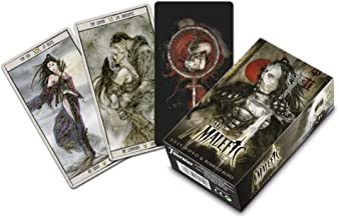 Fournier Malefic Time Luis Royo Tarot Cards 12cm Black
