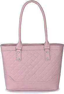 Aisna Women's Winset Handbag (ASN-172)(Light Pink)