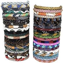 glass bead bracelets nepal