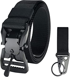 white tactical belt