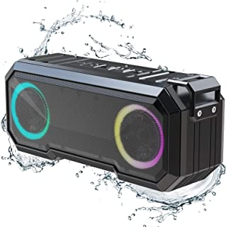 $32 » Sponsored Ad - Portable Bluetooth Speakers,IPX7 Waterproof Wireless Speaker with 16W Loud Stereo Sound,Outdoor Speakers wi...